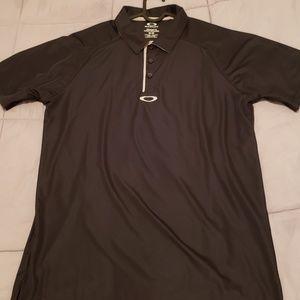 Oakley golf polo black M